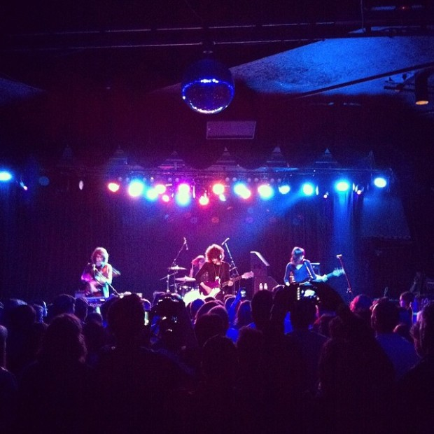 Temples rock the Roxy.