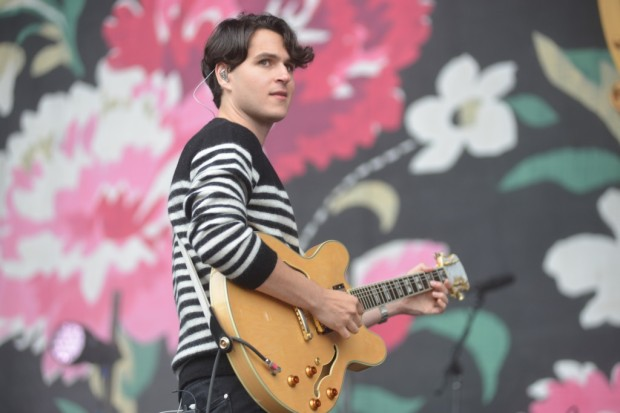 Ezra Koenig of Vampire Weekend.